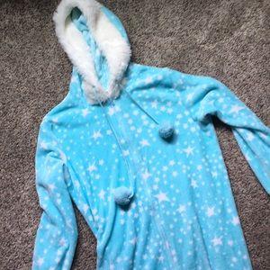 Light Blue Onesie with Stars